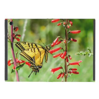 Tiger Swallowtail Butterfly and Wildflowers Case For iPad Mini