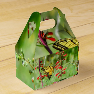 Tiger Swallowtail Butterfly and Wildflowers Favour Box