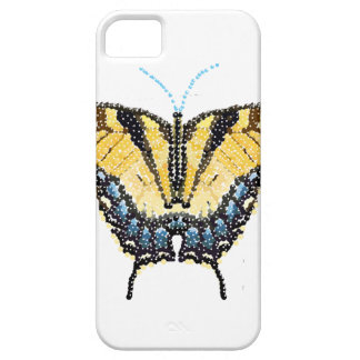 Tiger Swallowtail Butterfly Bedazzled Barely There iPhone 5 Case