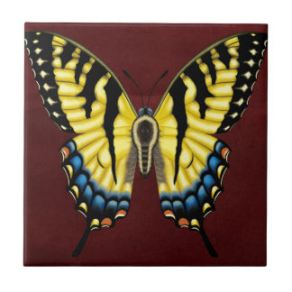 Tiger Swallowtail Butterfly Ceramic Tile