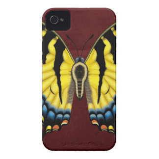 Tiger Swallowtail Butterfly iPhone 4 Case-Mate Case