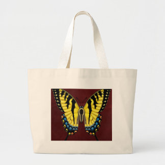 Tiger Swallowtail Butterfly Large Tote Bag