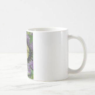 Tiger swallowtail butterfly lilac photo coffee mugs