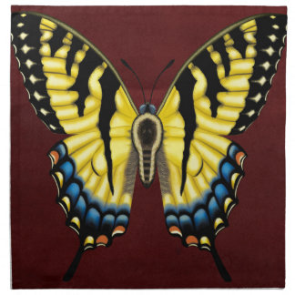 Tiger Swallowtail Butterfly Napkin