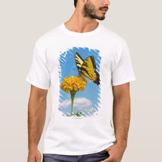 Tiger Swallowtail Butterfly on a Flower T-Shirt