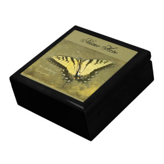 Tiger Swallowtail Butterfly - Papilio glaucus Gift Box