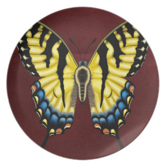 Tiger Swallowtail Butterfly Plate