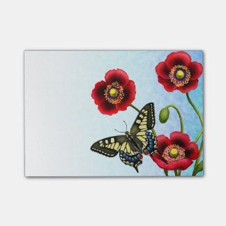 Tiger Swallowtail Butterfly Post-it Notes