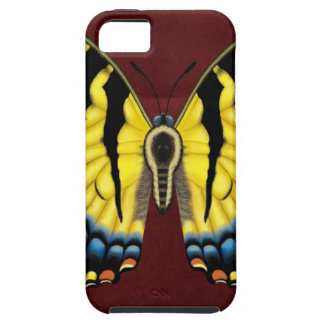 Tiger Swallowtail Butterfly Tough iPhone 5 Case