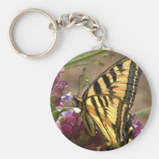 Tiger Swallowtail Keychain