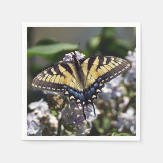 Tiger Swallowtail Paper Napkin