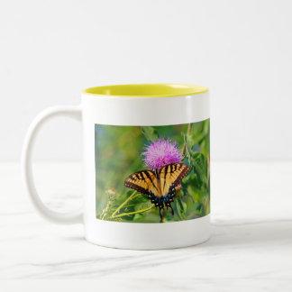 Tiger Swallowtail Two-Tone Mug