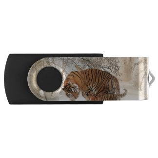 Tiger Swivel USB 2.0 Flash Drive