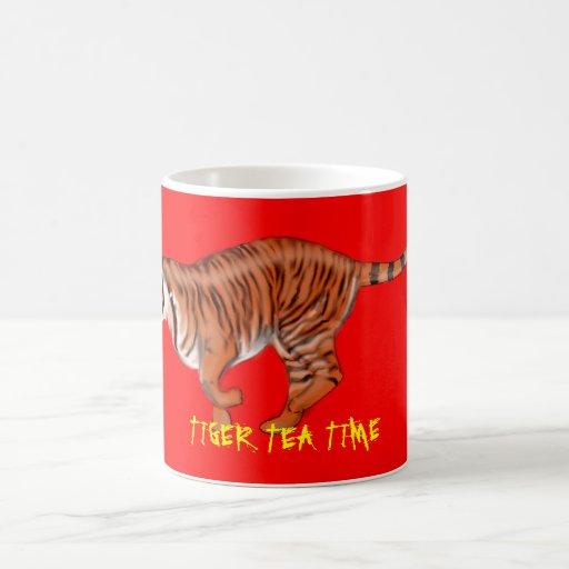Tiger Tea Time Mug