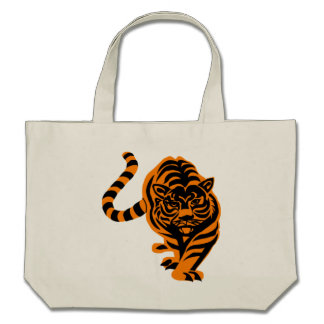 TIGER THE KING OF JUNGLE BAGS