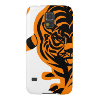 TIGER THE KING OF JUNGLE GALAXY S5 CASES