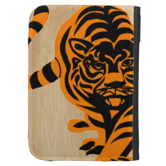 TIGER THE KING OF JUNGLE KINDLE KEYBOARD CASE