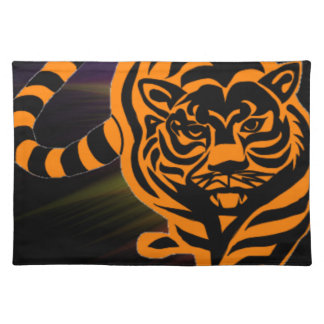 TIGER THE KING OF JUNGLE PLACE MAT