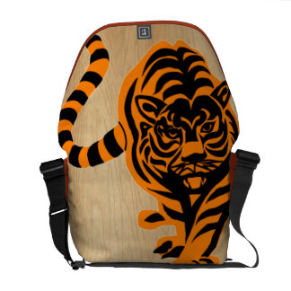TIGER THE KING OF JUNGLE COMMUTER BAG