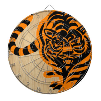 TIGER THE KING OF JUNGLE DARTBOARDS