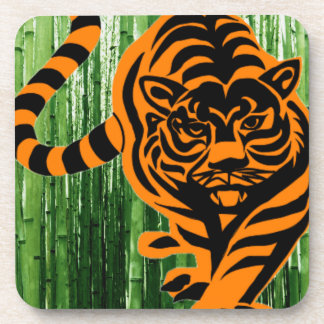 TIGER THE KING OF JUNGLE DRINK COASTERS