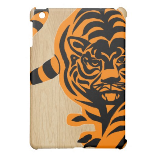 TIGER THE KING OF JUNGLE CASE FOR THE iPad MINI