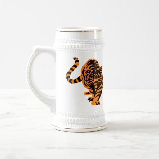 TIGER THE KING OF JUNGLE COFFEE MUGS