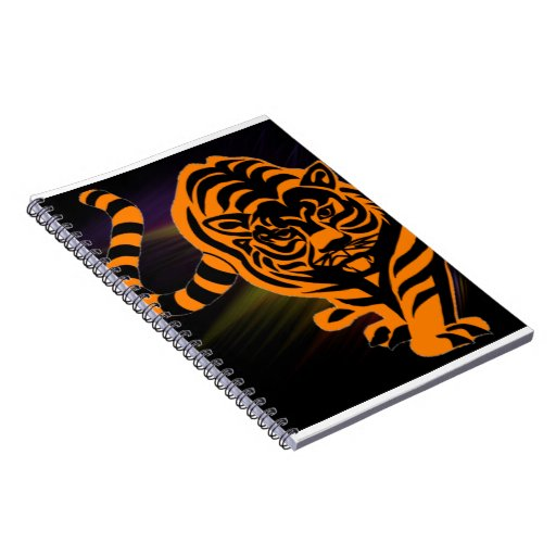 TIGER THE KING OF JUNGLE NOTE BOOKS
