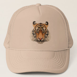 Tiger the king trucker hat