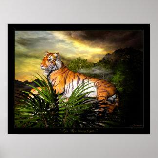 Tiger, Tiger, Burning Bright Poster
