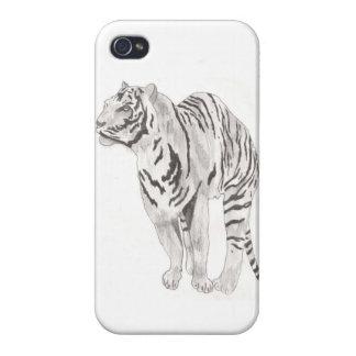 Tiger Travel iPhone 4 Cover