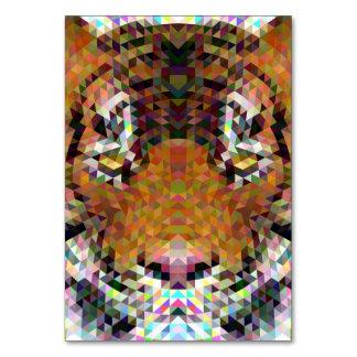 Tiger Triangle Mandala Card
