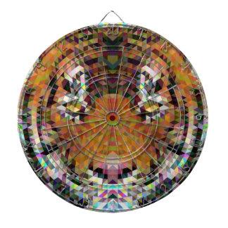 Tiger Triangle Mandala Dartboard