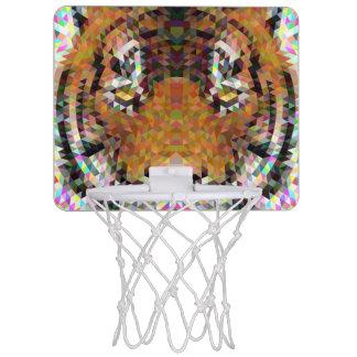 Tiger Triangle Mandala Mini Basketball Hoop