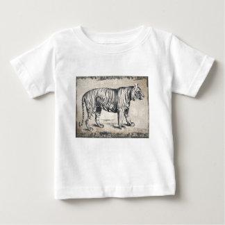 Tiger Vintage Wildlife Grunge Decorative Baby T-Shirt