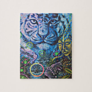 Tiger Vision Jigsaw Puzzle