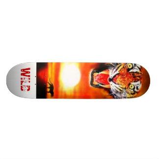 tiger, WILD Custom Skateboard