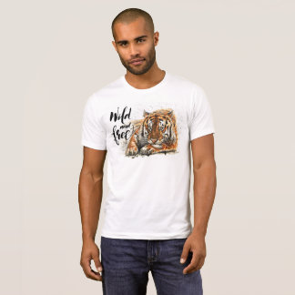 Tiger Wild & Free T-Shirt