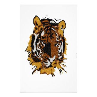 Tiger- Wildlife Stationery Design