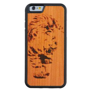 Tiger Wood Cherry iPhone 6 Bumper Case