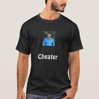 tiger-woods-sad, Cheater T-Shirt