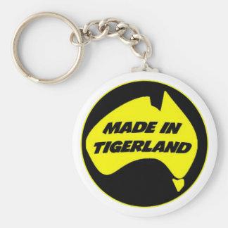 Tigerland Richmond Basic Round Button Key Ring