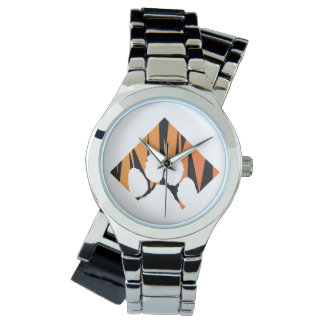 Tigerpaw Silver Wrap-Around Watch