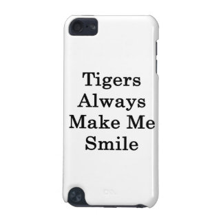 Tigers Always Make Me Smile iPod Touch (5th Generation) Case
