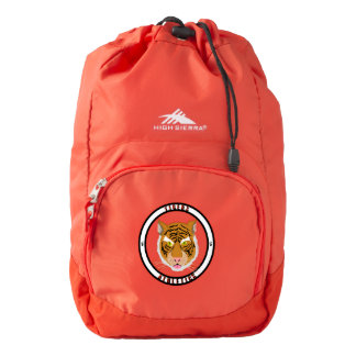 Tigers Athletics High Sierra Backpack, Red Backpack