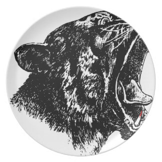 Tiger's Blood Dinner Plate