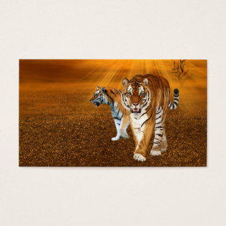 Tigers Business Card