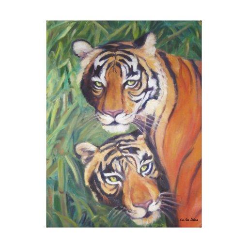 Tigers Canvas Prints