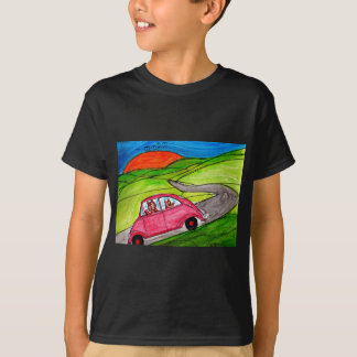 Tiger's Car T-Shirt