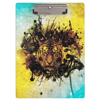 Tigers Clipboard